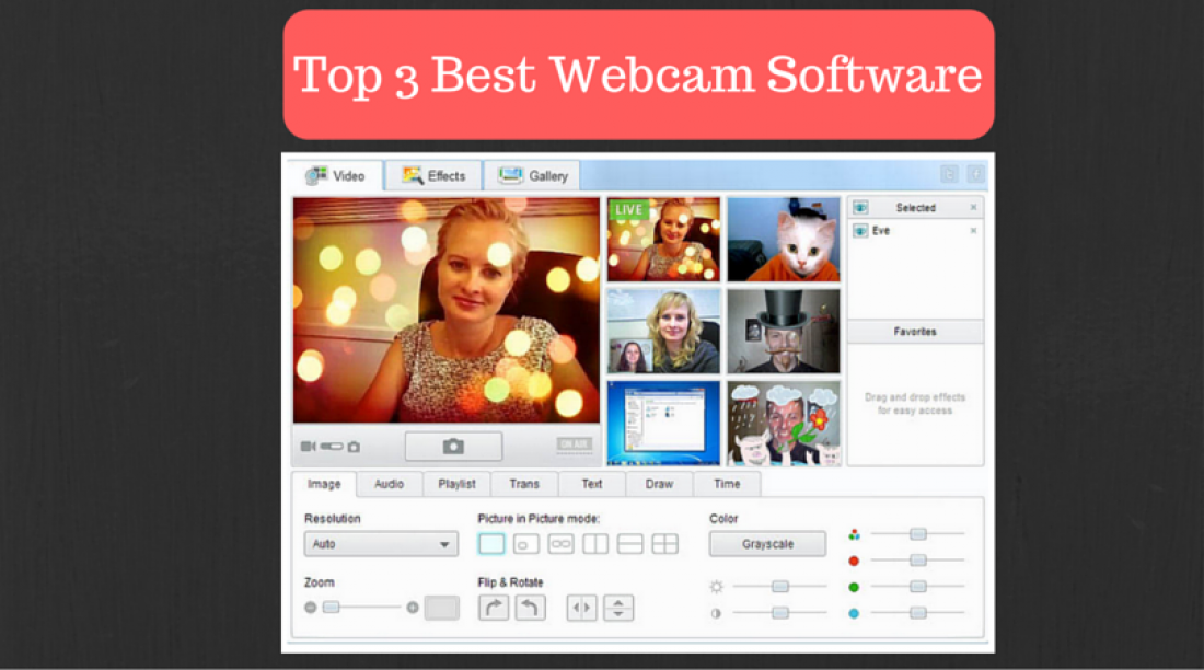 Top 3 Webcam Software