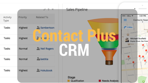 Contact Plus Review- CRM Software