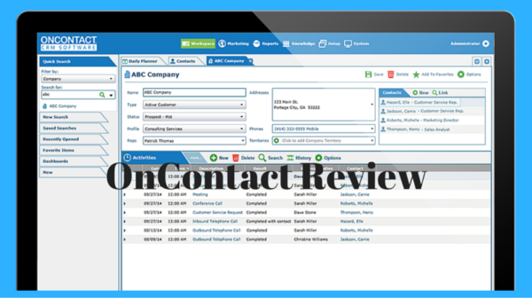 OnContact Review – Best CRM Software
