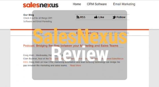 SalesNexus Review - CRM Software