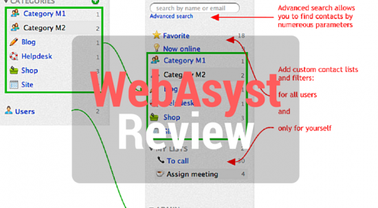 WebAsyst Review - CRM Software