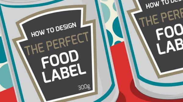 How to Design the Perfect Food Label (Infographic)