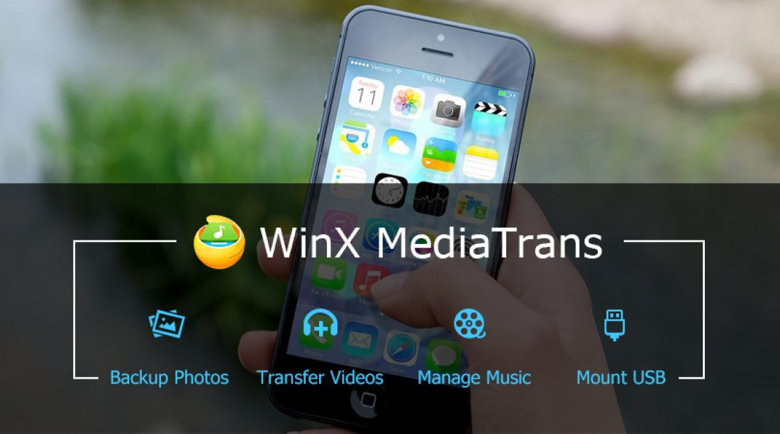 Easily Transfer Music, Photos and Videos between iPhone and PC with WinX MediaTrans