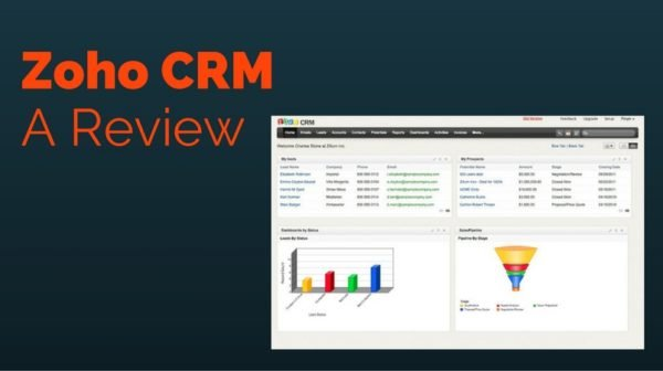 One of the Best CRM Software - Zoho CRM Review