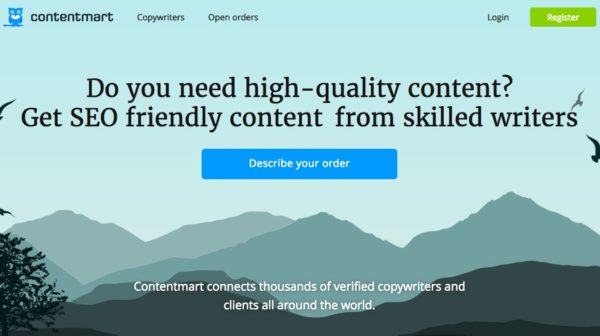ContentMart: Find Writers with Quality Skills at nominal pricing