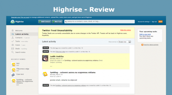 Highrise - Review