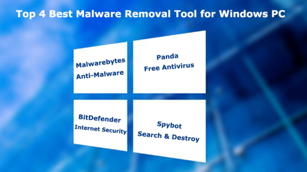 Top 4 Best Malware Removal Tool for Windows PC