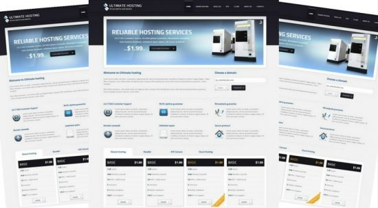 Ultimate Hosting Responsive Theme