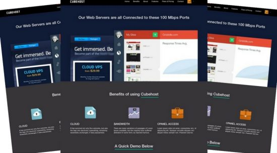 CubeHost Multipurpose Hosting Theme