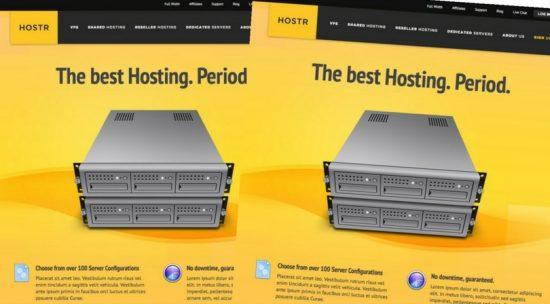 Hostr HTML5 CSS3 Hosting Template