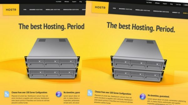 Hostr HTML5 CSS3 Hosting Template