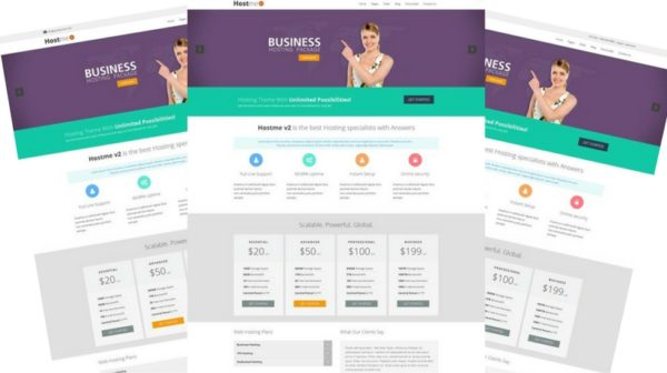 Hostmev2 - Responsive HTML5 Template