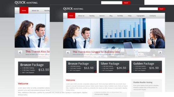 Quick Host – Business and Hosting HTML Template
