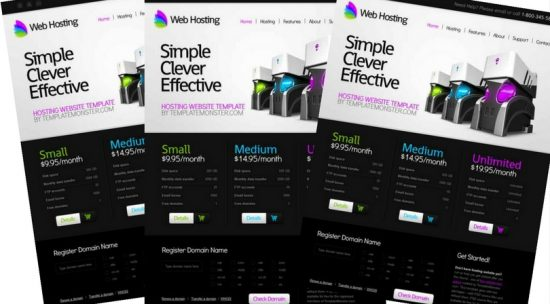 Free Web Hosting Html5 Template