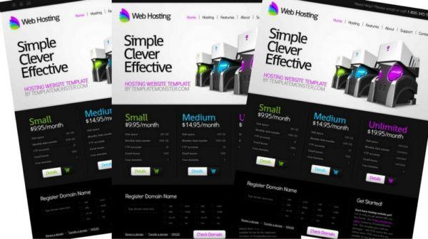 Free Web Hosting Html5 Template