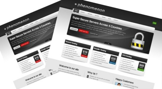 Phenomenon - Premium Business & Hosting Template