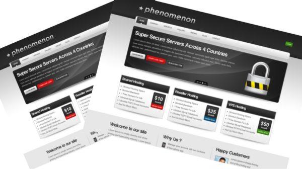 Phenomenon - Premium Business & Hosting Template