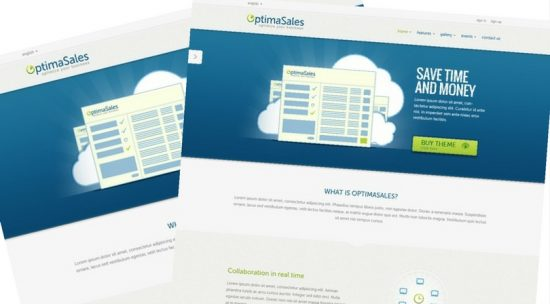 OptimaSales HTML Hosting Template
