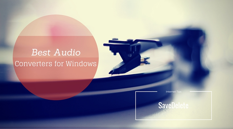 Best Audio Converter for Windows that are free to Download