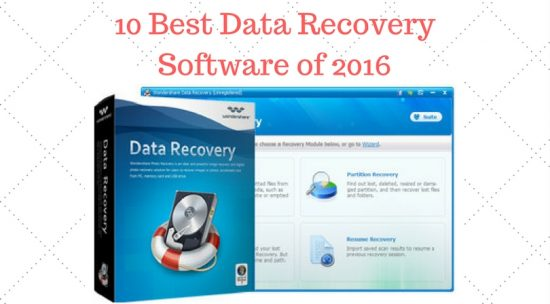 10 Best Data Recovery Software of 2016