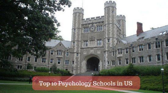 Top 10 Psychology Schools in US