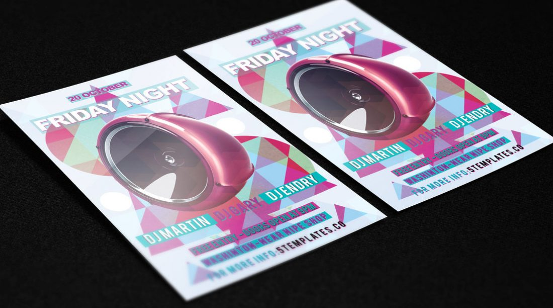 25 Free Night Club Flyer Templates in PSD