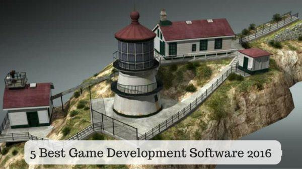 5 Best Game Development Software 2016