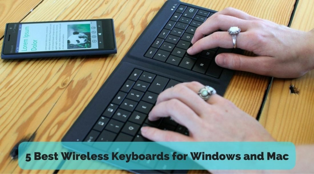 5 Best Wireless Keyboards for Windows and Mac