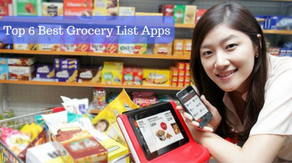 Top 6 Best Grocery List Apps