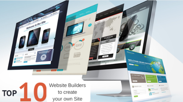 Top 10 Website Builders to create your own Site