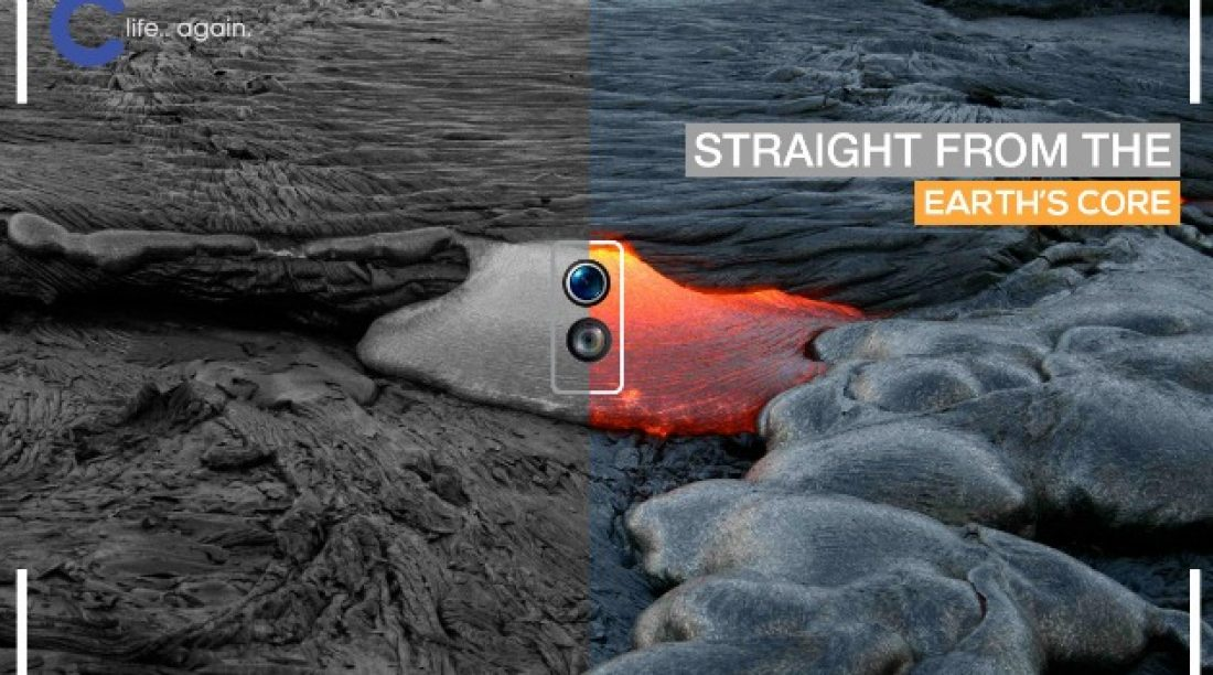 Something metallic .. something shiny is coming out soon from Coolpad