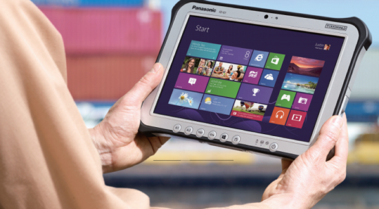 Now Take Your Work Everywhere with Panasonic Toughpad