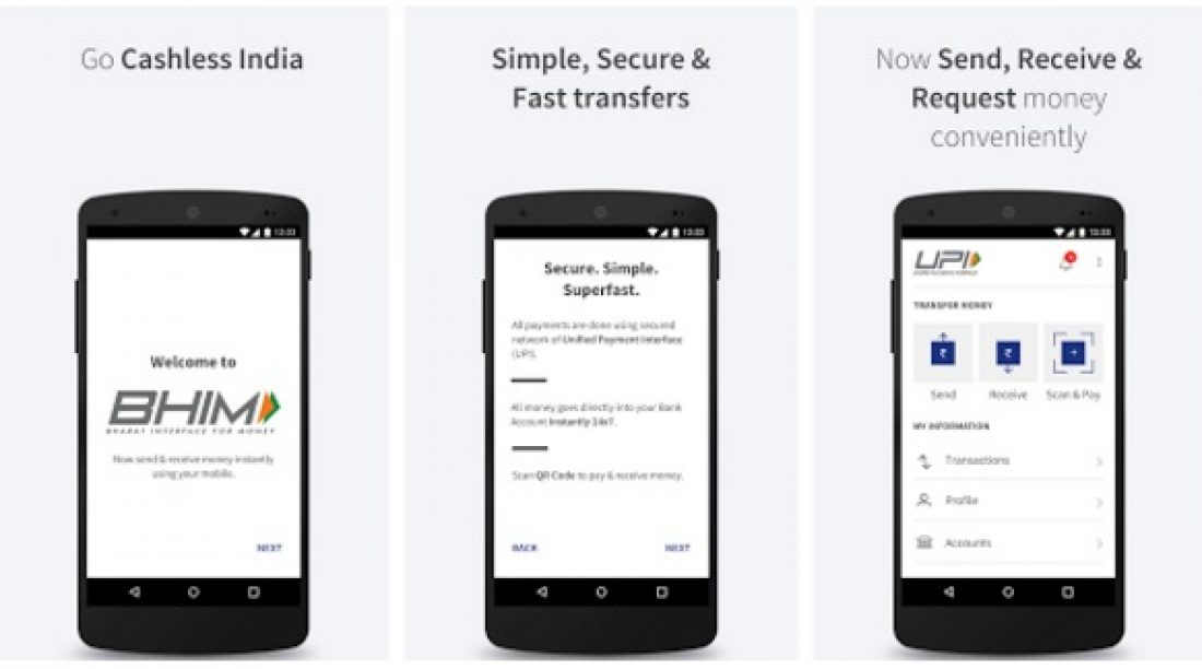BHIM App Download for Android Phones, iOS App to Launch Soon