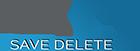 savedelete logo