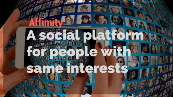 Affimity - A social platform for people with same interests