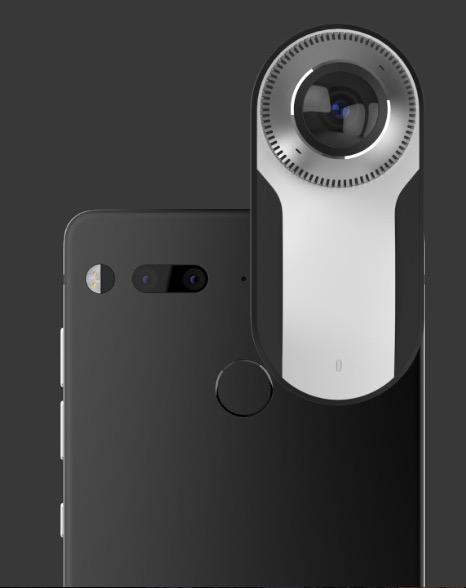 360-degree camera essential phone