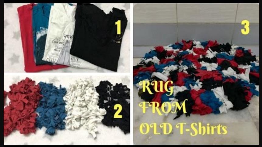 rag rug by live creative