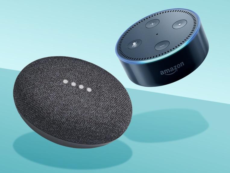 Google Home Mini vs Amazon Echo Dot