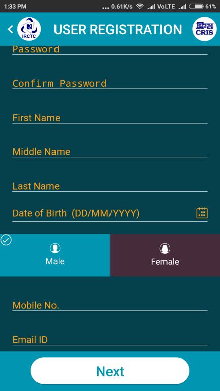 user registration 2