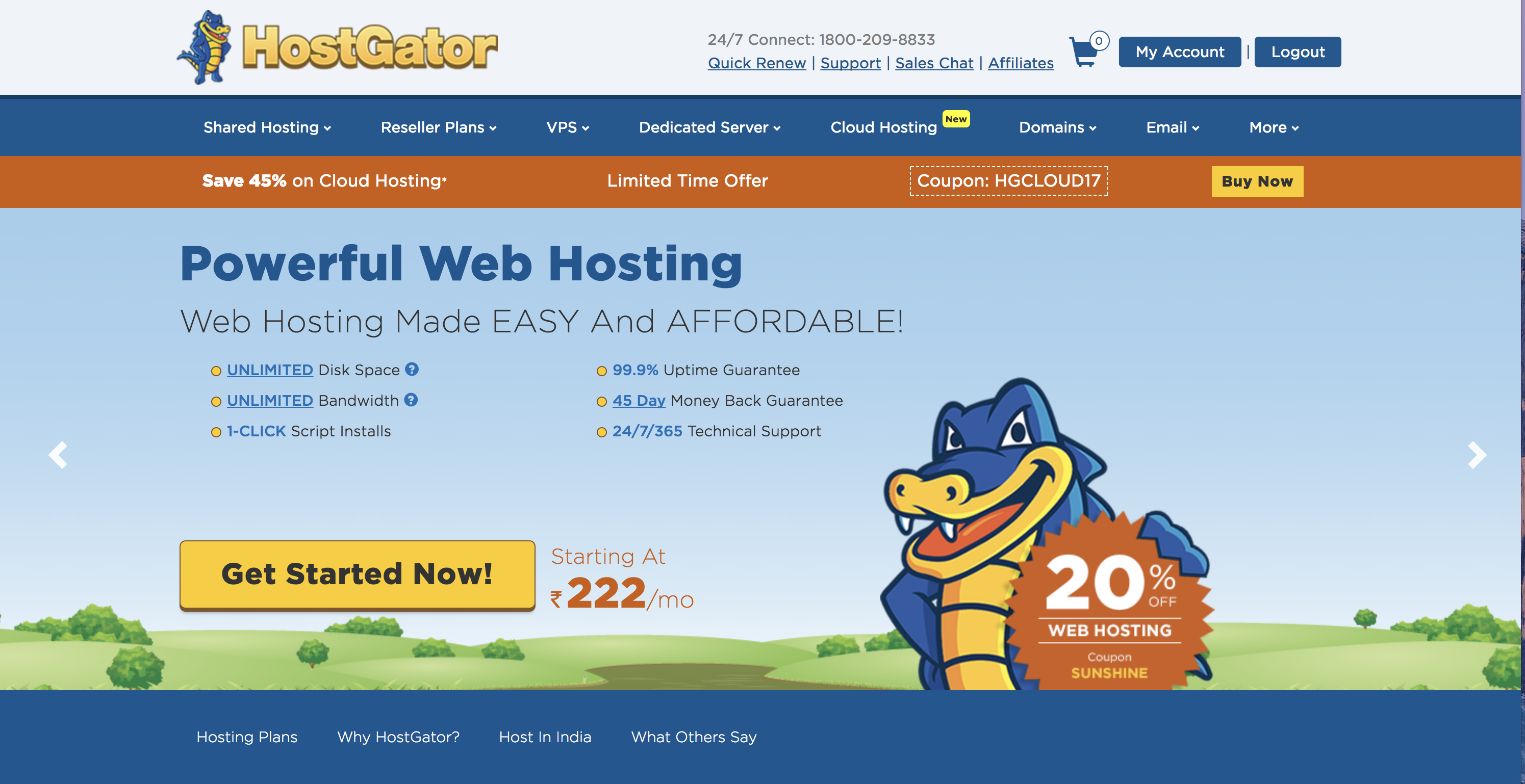 Hostgator India Review - How to Install WordPress on Hostgator.in? |  SaveDelete