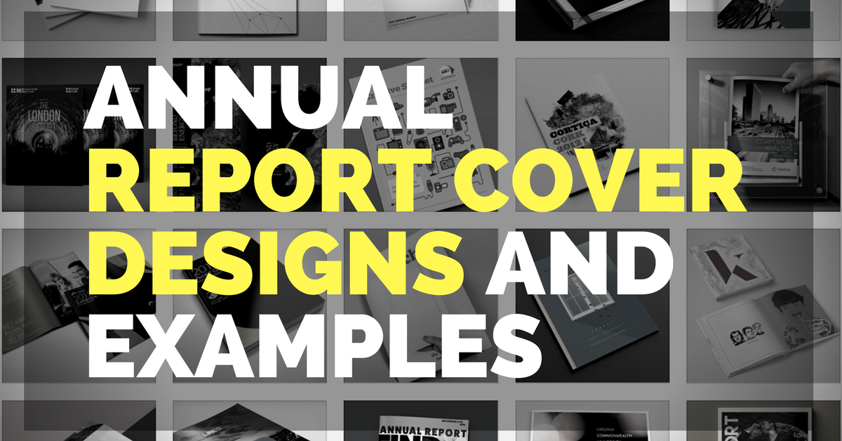 26 creative annual report cover designs and examples