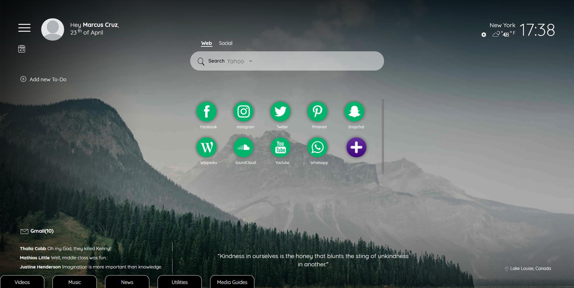 TabiTab Screen