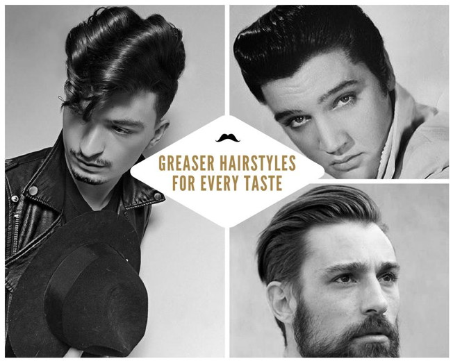 60s Greasers Hairstyles Men