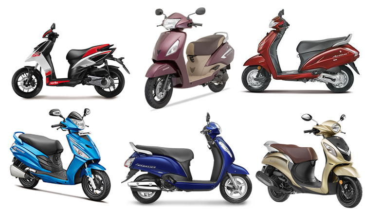 Best Scooter in India 2018: Top 10 Scooters with Pricing