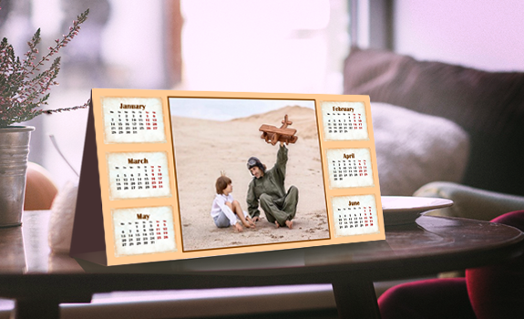 make a unique calendar with photo calendar creator savedelete