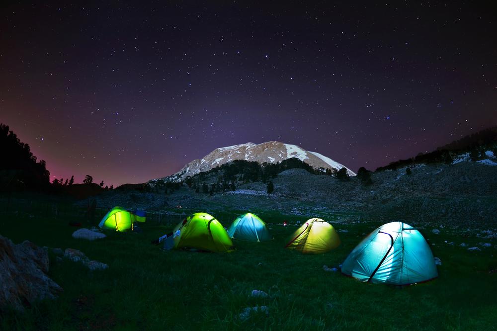 glow tents