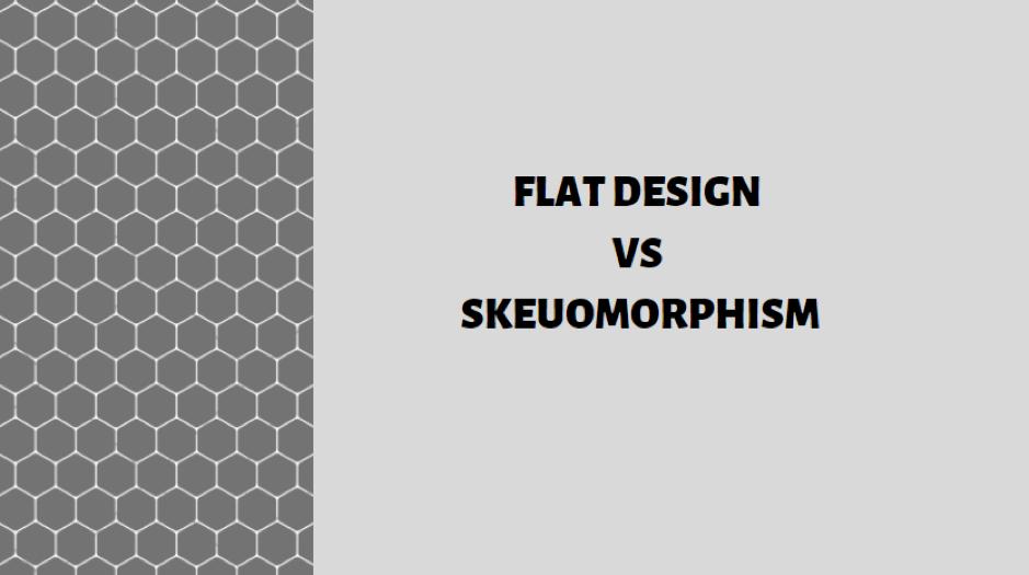 Flat Design vs Skeuomorphism