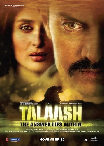 Talash: The answer lies within. kareena played the role of an escort.
