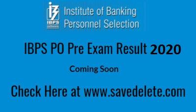 IBPS PO Prelims Exam Result 2020