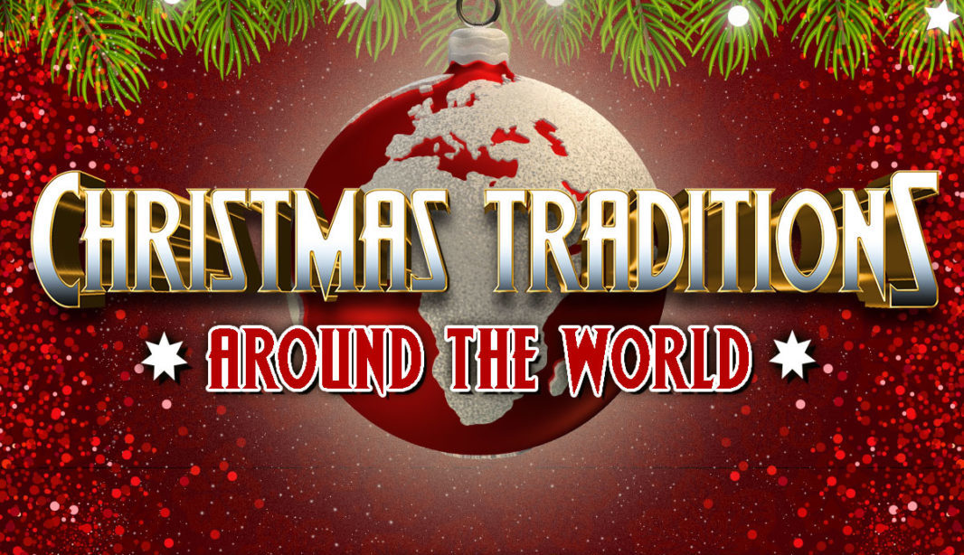 Christmas traditions infographic